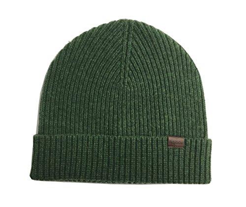 Rich Cotton Wool Beanie (Forest Green)
