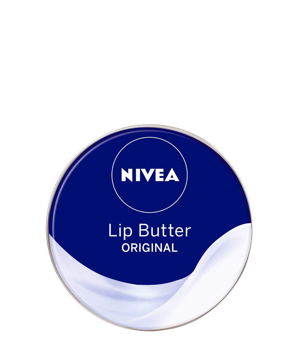 Nivea Lip Butter Original - 19 ml, Pack of 6 85253