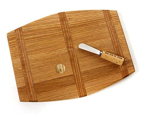 Wine Barrel Cutting Board