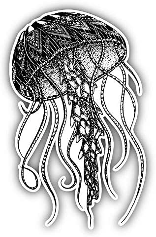 JELLYFISH Graphic Die Cut decal sticker Car Truck Boat Window  Wall Laptop 7/""