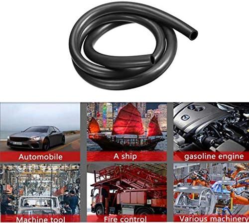 Tuyau flexible pour carburant essence Tuyau de carburant de 5 mm // 8 mm Huile diesel etc. Tuyau de carburant renforc/é en caoutchouc souple