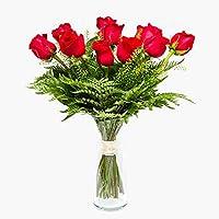Ramo de 12 rosas - París - Ramos de flores naturales a domicilio - Flores frescas - Envío a domicilio 24h GRATIS…
