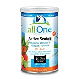 allOne Multiple Vitamin & Mineral Powder, for Active Seniors | Once Daily Multivitamin, Mineral & Amino Acid Supplement w/4g Protein | 10 Servings For Sale