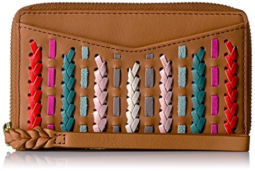 (Fossil Women's Caroline RFID Phone Wallet, Neutral Multi One Size)