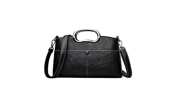 SJMMBB Ladies Satchel Fashion Mom Bag Lady Shoulder Bag,Yellow,28X16X6Cm