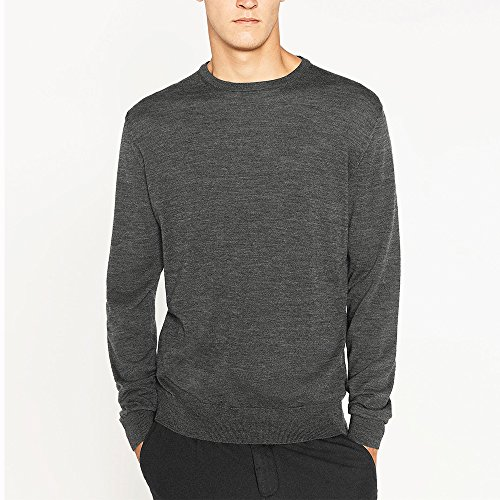 Wool Blend Crewneck Sweater - 1
