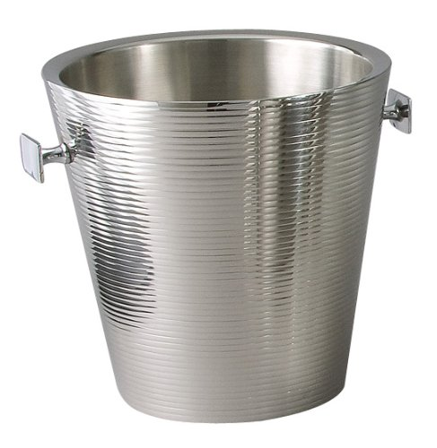 Elegance Lines Champagne Bucket Doublewall Stainless Steel (Champagne Cheap Buckets)