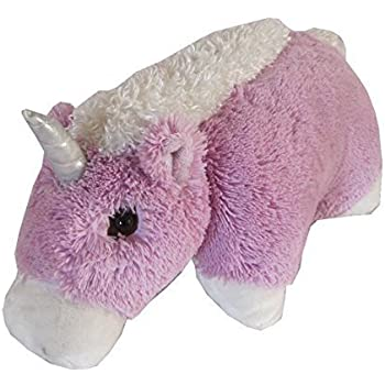 Unicorn Zoopurr Pets 2-in-1 Stuffed Animal and Pillow Large 19""