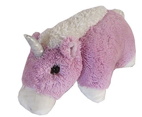 Unicorn Zoopurr Pets 2-in-1 Stuffed Animal and Pillow Large 19