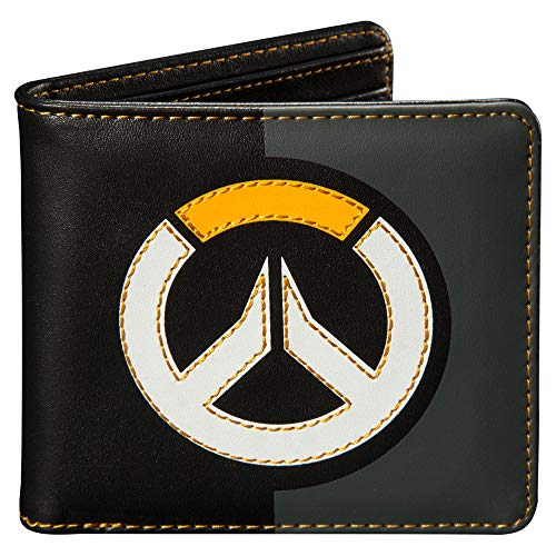 (JINX Overwatch Logo Bi-Fold Wallet, Multi-Colored, Standard Size)