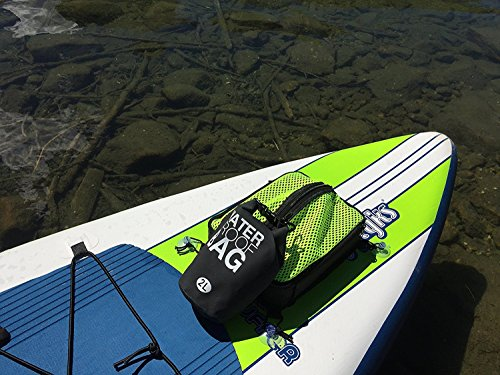 Paddle Board Accessories - SUP Cooler Bag and Mesh Top in One! (Green, 1 - Croakies Orange