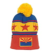 Cirque Mountain Apparel Arizona State Flag Hat, Orange/Blue/Yellow/Red, One Size