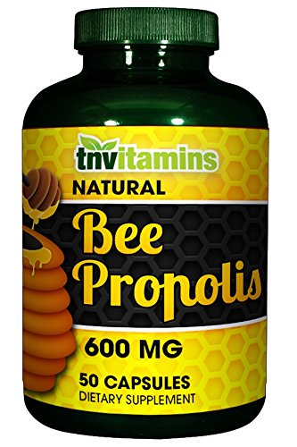 Bee Propolis 600 Mg Capsules (50 (Royal Jelly 50 Capsules)