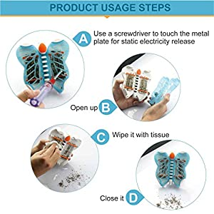 KOODER Bug Zapper, Mosquito Killer Lamp,Mosquito Trap,Electronic Insect Killer,Mosquito Zapper,Night Light !Killing Mosquitoes To A Quiet Sleep(Blue)