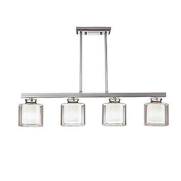 ZGY Rétro Vintage Moderne Suspension Pendant Lampe ...