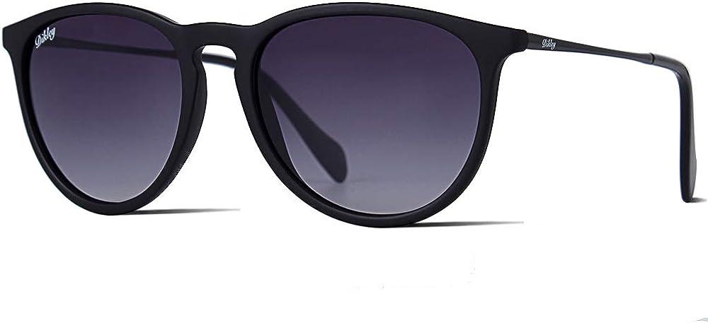 Dikley Vintage Polarisierte Sonnenbrille Damen Herren Rund Retro UV400 Schutz Ultraleicht Rahmen: Amazon.de: Bekleidung - Sonnenbrille Damen 2020