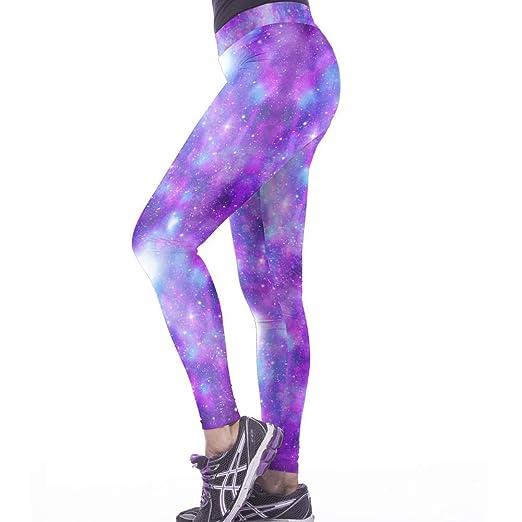 Havanadd Leggings de Yoga para Mujer Color Star Impresión ...