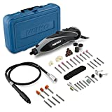 Neiko 10656A Rotary Tool Accessory Kit, 152-Piece Assortment Set with Organizer Case | 1/8-Inch Shank