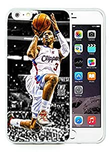 New Custom Design Cover Case For iPhone 6 Plus 5.5 Inch LA Clippers Chris Paul 3 White Phone Case by icecream design