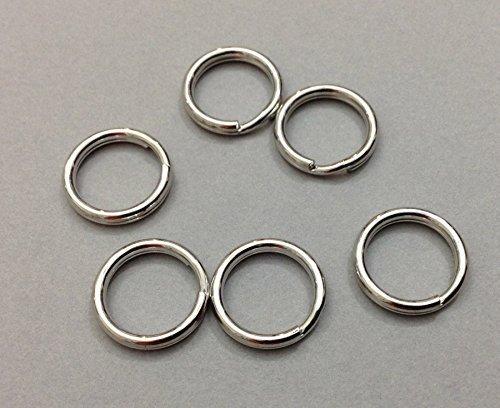 Split Round Camera Strap Rings Pkg/6
