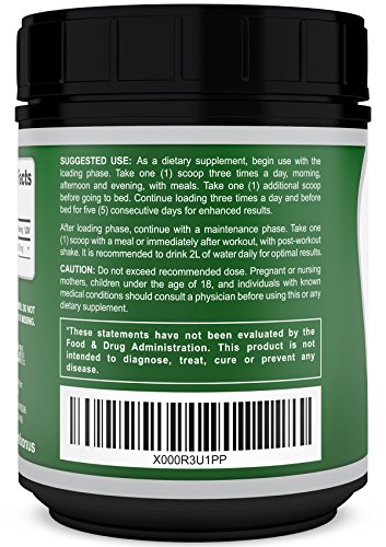 SALE - SAVE 78% - Pure Creatine Monohydrate Powder | 100 Servings - 500g | Best Bodybuilding Supplement to Boost Power, Reduce Muscle Soreness and Muscle Growth.