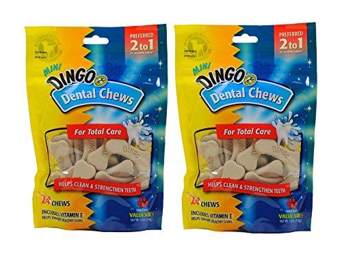 Dingo Mini Denta-Treats, 48-Pack