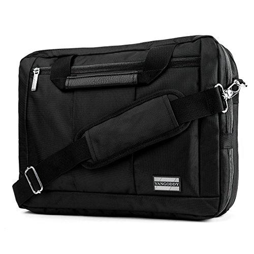 VanGoddy El Prado 3-in-1 Messenger + Backpack