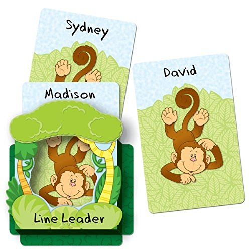 Carson Dellosa Monkeys Dimensional Accent (108076)