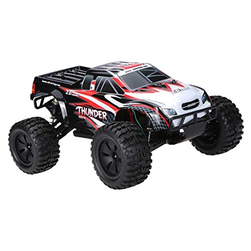 SunniMix 1/10 Scale Vehicle Model DIY Kit ZD Racing 10427 Thunder Truck Car Body Kit Frame