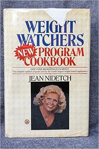 Weight Watchers New Program Cookbook Jean Nidetch 9780453010030