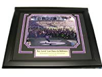 Ray Lewis Last Ride / Dance Baltimore Ravens 8x10 Framed Photo