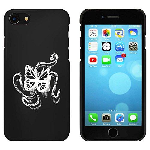 Noir 'Papillon' étui / housse pour iPhone 7 (MC00065623)