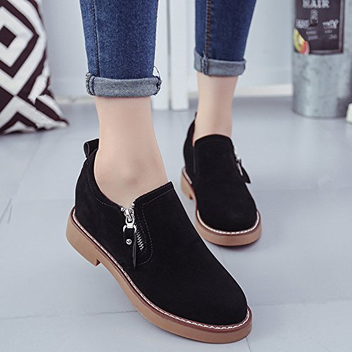 Shoes Lazy A Shoes Within Thick Increased Women People Winter GAOLIM Spring Shoes BlackA And Student Shoes Short Thick zXSwx4dqxg