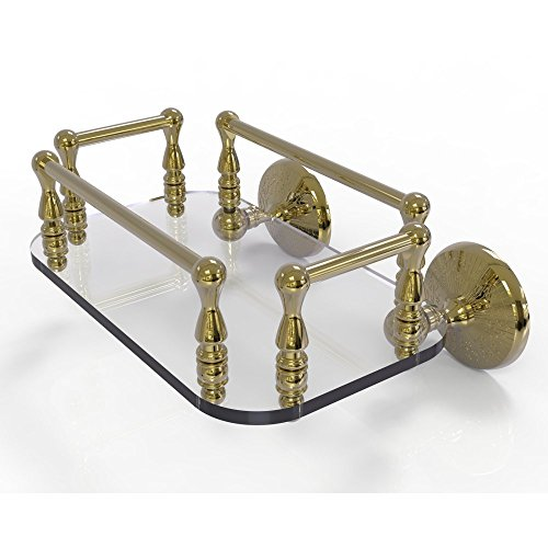 - Allied Brass Monte Carlo Wall Mounted Glass Guest Towel Tray