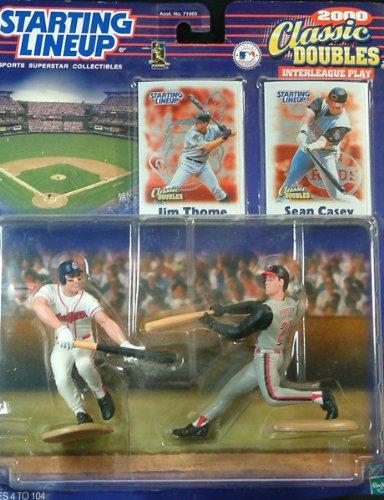Thome/Sean Casey Action Figures (Sean Casey Baseball)