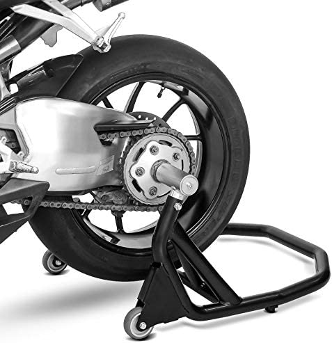 Rear Paddock Stand single sided for Ducati Panigale V4 S 18-20 V5 black