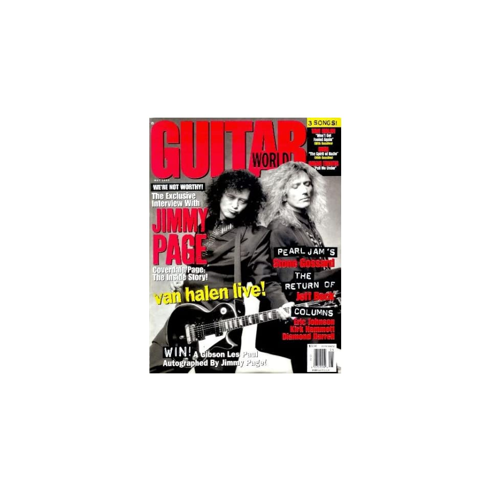 Guitar World   May 1993 Jimmy Page, David Coverdale, Van Halen, Jeff Beck, and More