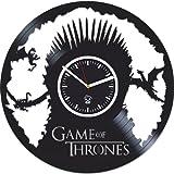 dance moms season 6 - Game Of Thrones Gift, Mother Of Dragons, Targaryen, Vinyl Record Clock, Best Gift For Her, Kovides, Vinyl Wall Clock, Home Art Decor, Vinyl Wall Clock Silent, Wall Clock Modern, Birthday Gift