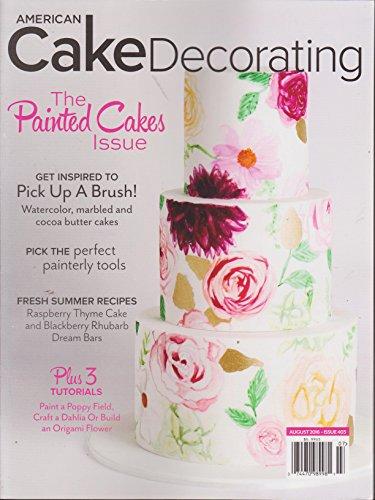 American Cake Decorating Magazine August 2016