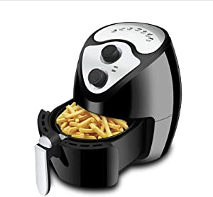 Z&H 2.7 Quart Oil-Less Air Fryer,Electric Hot Air Fryers Oven with 30 Minute Timer Auto Shutoff,Roast,Dehydrate & Bake,BPA-Free,Easy to Clean