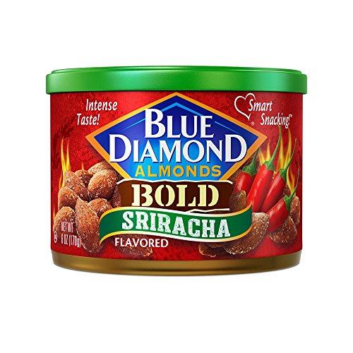 Blue Diamond Almonds, Bold Sriracha, 6 Ounce ()