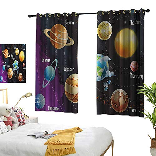 Superlucky Customized Curtains,Outer Space,63