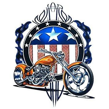 Top heavy american chopper sticker decal