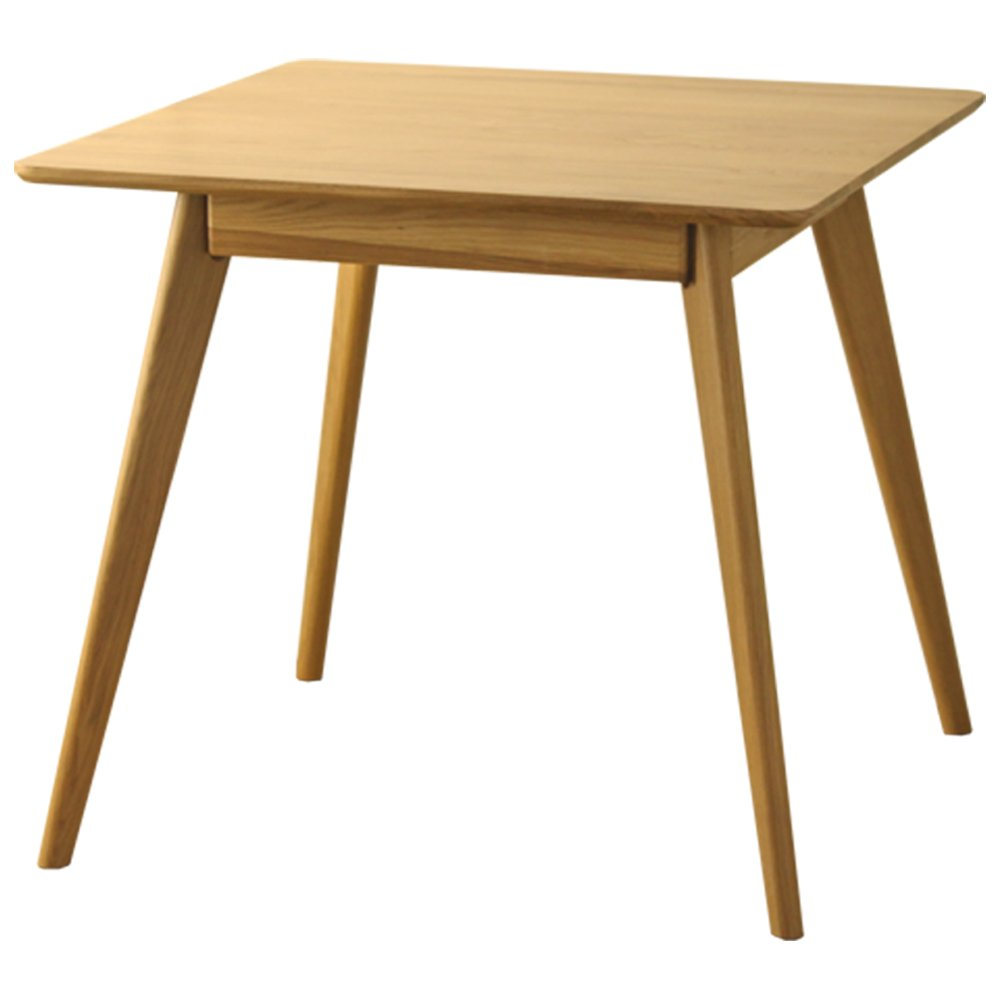 岩附(IWATSUKI) ダイニングテーブル 4人用 幅135 長方形 木製 無垢材 オーク 北欧 リバー ナチュラル OK_RIVER-TABLE135 B0764DHHBS ダイニングテーブル 幅135cm