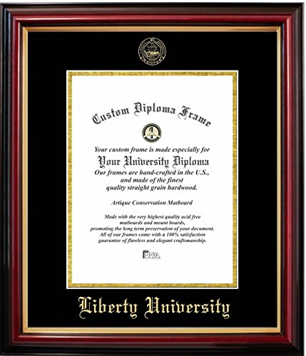 Liberty University Affordable Diploma Frame (14 X 17) Vertical ...