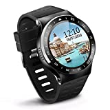 Smart Watch 3G Wifi SIM Bluetooth Camera S99A Android OS V 5.1 for Android Phone (Black)