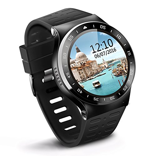 Smart Watch 3G Wifi SIM Bluetooth Camera S99A Android OS V 5.1 for Android Phone (Black) by Endless Joe