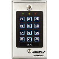 Securitron Single Gang Digital Keypad System with Illuminated Keys, 99 User Code Capability