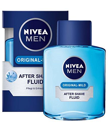Nivea Men Original-Mild After Shave Fluid, 3er Pack (3 x 100 ml)