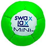 SWAX LAX Mini Soft Lacrosse Training Ball - Smaller and Lighter Than Regulation Ball. Just The Right Weight in Your Mini-Stick Pocket